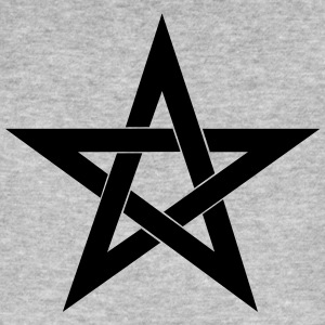Pentagram, pentacle, magic, symbol, witchcraft - Men's Organic T-shirt