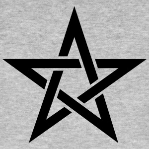 Pentagram, pentacle, magic, symbol, witchcraft, - Men's Organic T-shirt