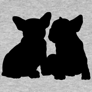 Frenchie - Mannen Bio-T-shirt
