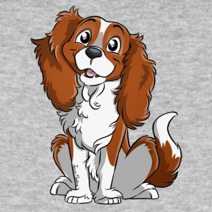 Cavalier King Charles - White Fire - Men's Organic T-shirt
