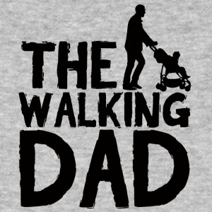 Farsdag: The Walking Dad - Økologisk T-skjorte for menn