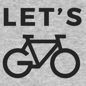 LET'S GO BIKE - Mannen Bio-T-shirt