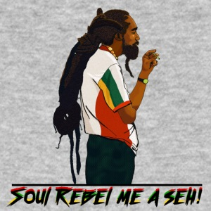 Soul Rebel rastaman - Men's Organic T-shirt