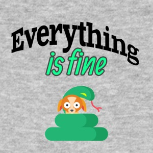 Everything is fine - Men's Organic T-shirt