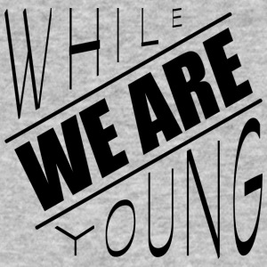 While we are young - Männer Bio-T-Shirt