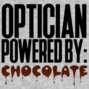 Opticien: Opticien powered by: Chocolade - Mannen Bio-T-shirt