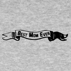 best mom banner - Männer Bio-T-Shirt