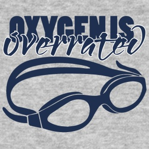 Swimming / swimmer: Oxygenis Overrated - Men's Organic T-shirt