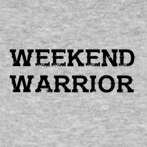 Shirt Weekend Warrior Wochenende Party - Männer Bio-T-Shirt
