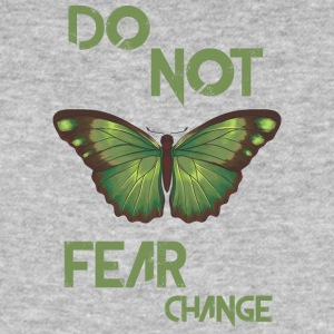 do not fear change - Men's Organic T-shirt