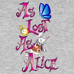as lost as alice - Camiseta ecológica hombre