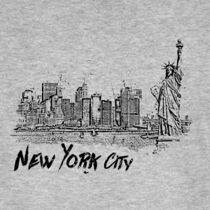 New York City - T-shirt bio Homme