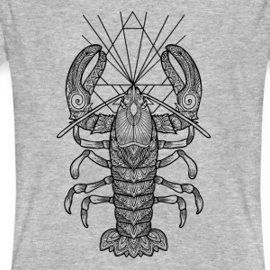 Geometric Lobster - Männer Bio-T-Shirt