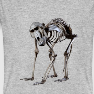 Een baviaanskelet door Wild World Designs (WWD) - Mannen Bio-T-shirt