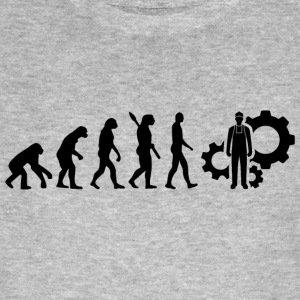 Evolution Techniker Technik b - Männer Bio-T-Shirt