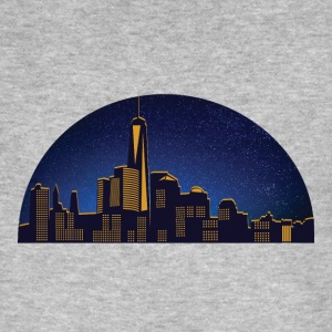 NY night skyline - Men's Organic T-shirt
