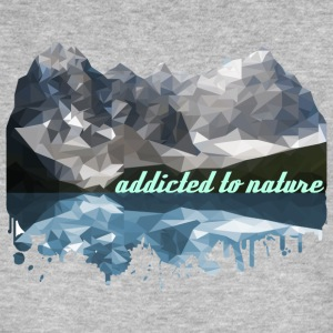 addicted to nature - Men's Organic T-shirt