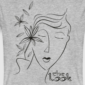 Den 5: e ansikte (serie The Look) - Ekologisk T-shirt herr