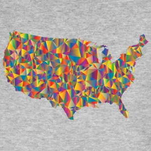 COLORFULL AMERICA - Men's Organic T-shirt