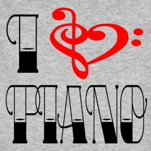 Clef - J'AIME PIANO - T-shirt bio Homme