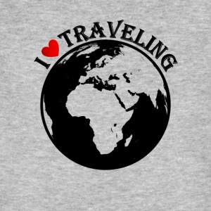 I love traveling - Männer Bio-T-Shirt