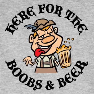 Oktoberfest Here For Boobs Beer - T-shirt bio Homme