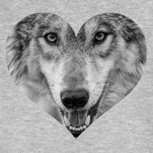 A heart for Wolves - Men's Organic T-shirt