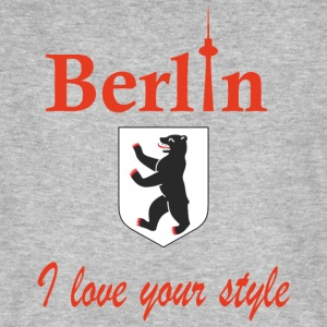 Berlin I love you - Mannen Bio-T-shirt