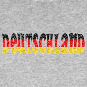 Deutschland flag crystal - Men's Organic T-shirt