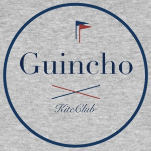 GUINCHO 175x175 white blue - Men's Organic T-shirt