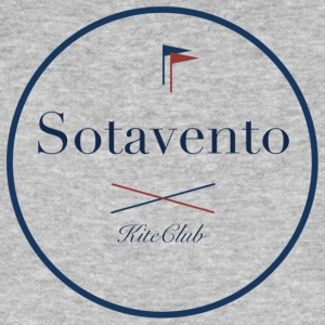 SOTAVENTO 175x175 white blue - Men's Organic T-shirt