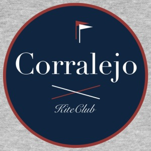 CORRALEJO 175x175 blue red - Men's Organic T-shirt