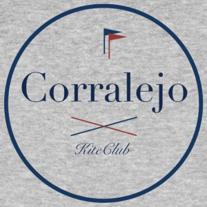 CORRALEJO 175x175 white blue - Men's Organic T-shirt
