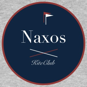 NAXOS 175x175 blue red - Men's Organic T-shirt