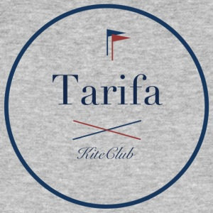 TARIFA 175x175 white blue - Men's Organic T-shirt