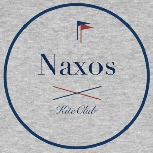 NAXOS 175x175 white blue - Men's Organic T-shirt
