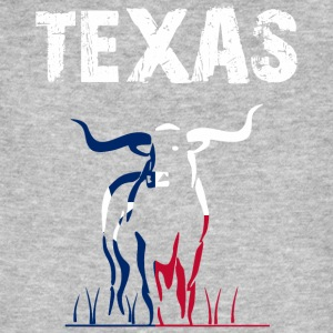 Nation-Design Texas Longhorn - T-shirt bio Homme