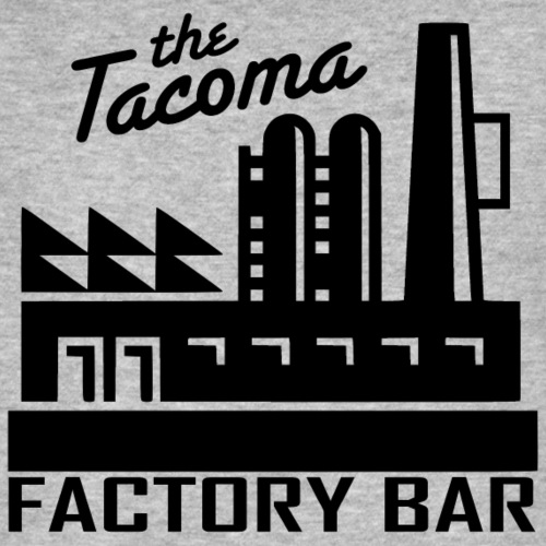 Tacoma Factory Bar - Men's Organic T-Shirt