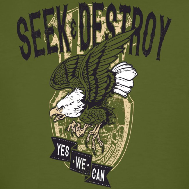 Seek Destroy - Shirts