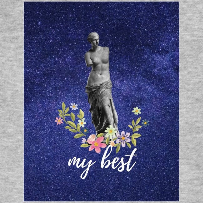 Pink and Purple Bold Life Typography T Shirt