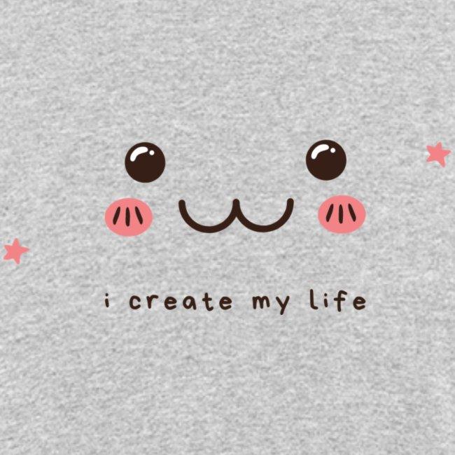 Jag skapar mitt liv motiv