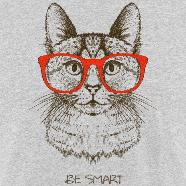 Vorschau: Cat Hipster - Männer Bio-T-Shirt