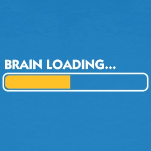 Brain Loading - Mannen Bio-T-shirt