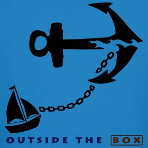 Outside The Box - Anker - Männer Bio-T-Shirt