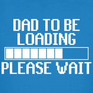 Dad to be loading - vater - Männer Bio-T-Shirt