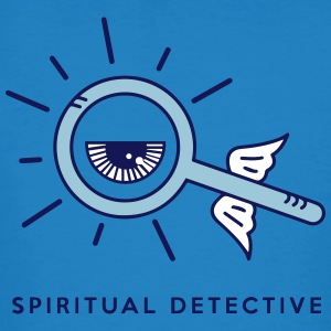 Spiritual detective bag blue - Men's Organic T-shirt