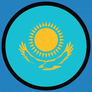 Under The Sign Of Kazakhstan - Men's Organic T-shirt