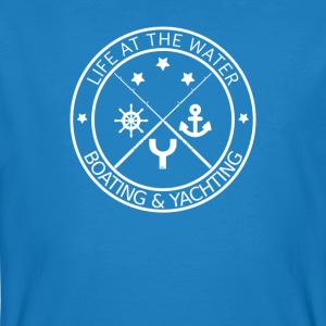 Life at the Water - Boating & Yachting - Männer Bio-T-Shirt