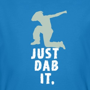 just dab it attitude touchdown krass funny humor L - Männer Bio-T-Shirt
