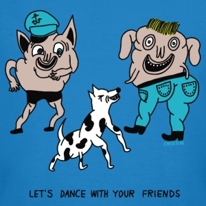 Let's Dance with your Friends - Männer Bio-T-Shirt